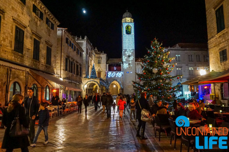 Christmas in Dubrovnik, Croatia
