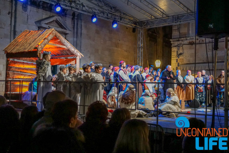 Nativity, Christmas in Dubrovnik, Croatia, Uncontained Life
