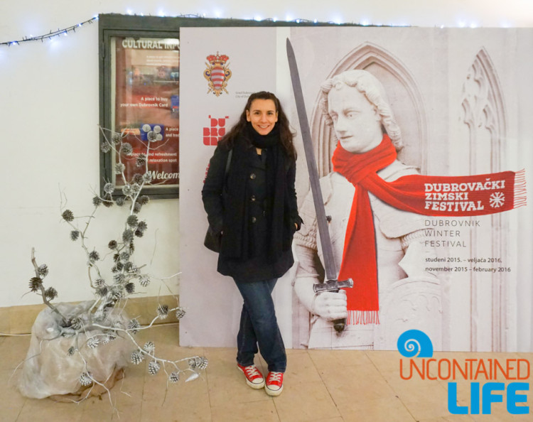 Winter Festival, Christmas in Dubrovnik, Croatia, Uncontained Life