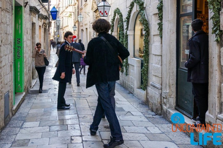 Caroling, Christmas in Dubrovnik, Croatia, Uncontained Life