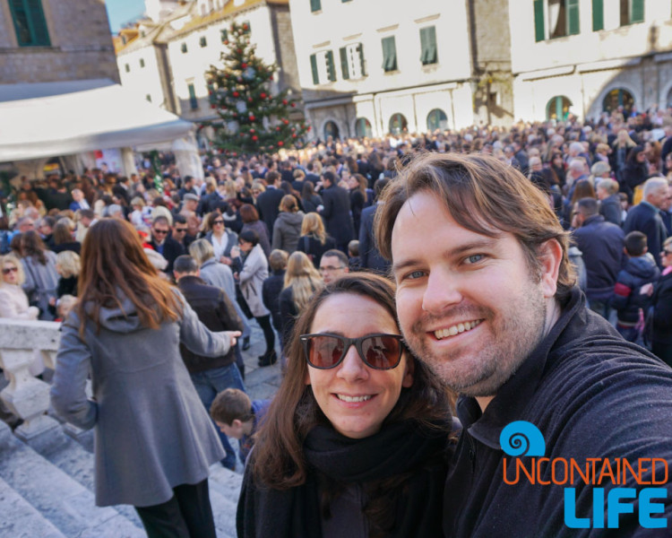 Celebrate, Christmas in Dubrovnik, Croatia, Uncontained Life