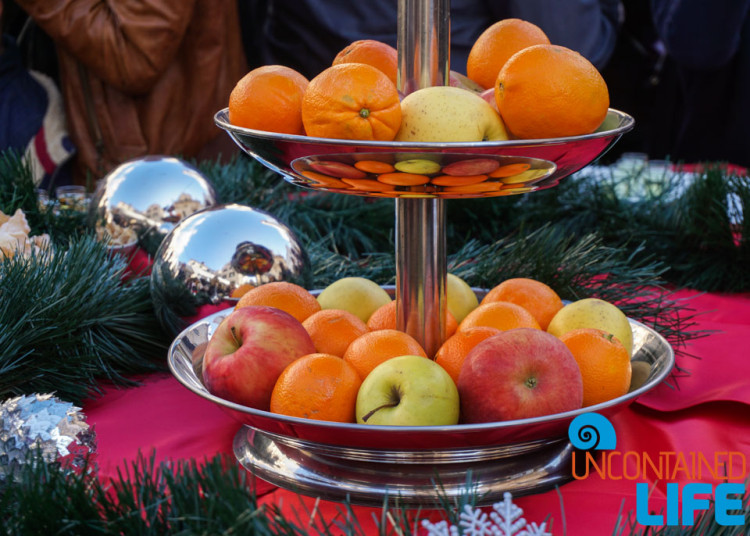 Oranges, Apples, Christmas in Dubrovnik, Croatia, Uncontained Life