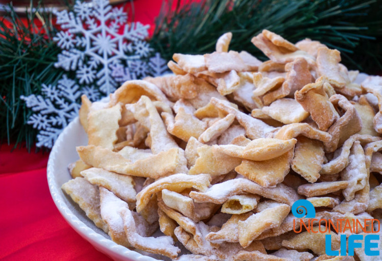 Food, Christmas in Dubrovnik, Croatia, Uncontained Life