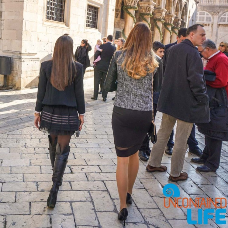 Fashion, Christmas in Dubrovnik, Croatia, Uncontained Life