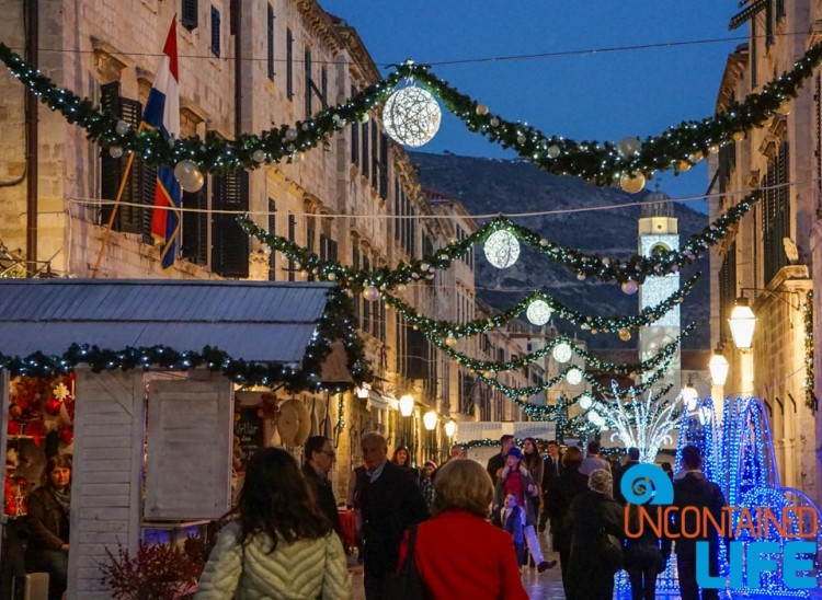 Christmas in Dubrovnik, Croatia, Uncontained Life