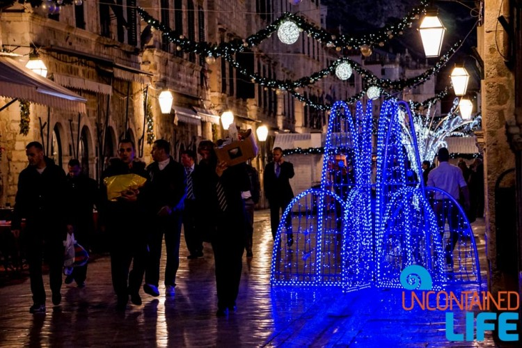 Nightlife, Christmas in Dubrovnik, Croatia, Uncontained Life