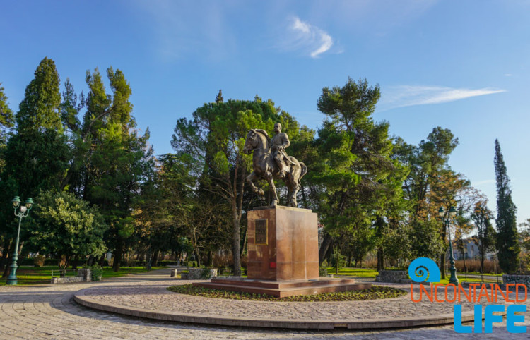 Statue, Horse, See and do in Podgorica, Montenegro, Uncontained Life