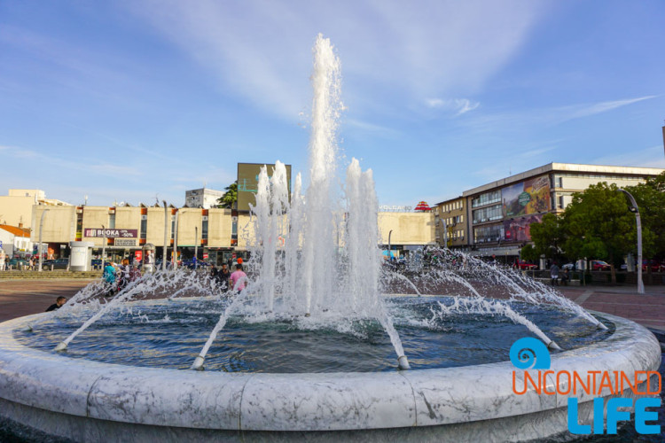 Republic Square, Fountain, See and do in Podgorica, Montenegro, Uncontained Life