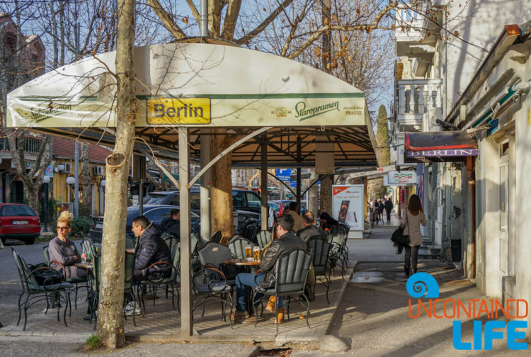 Cafe Berlin, Patio, See and do in Podgorica, Montenegro, Uncontained Life