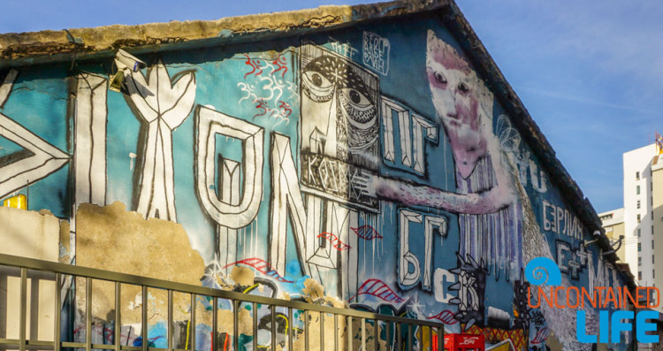 Mural, See and do in Podgorica, Montenegro, Uncontained Life