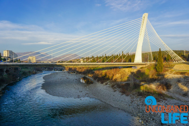 Millennium Bridge, See and do in Podgorica, Montenegro, Uncontained Life