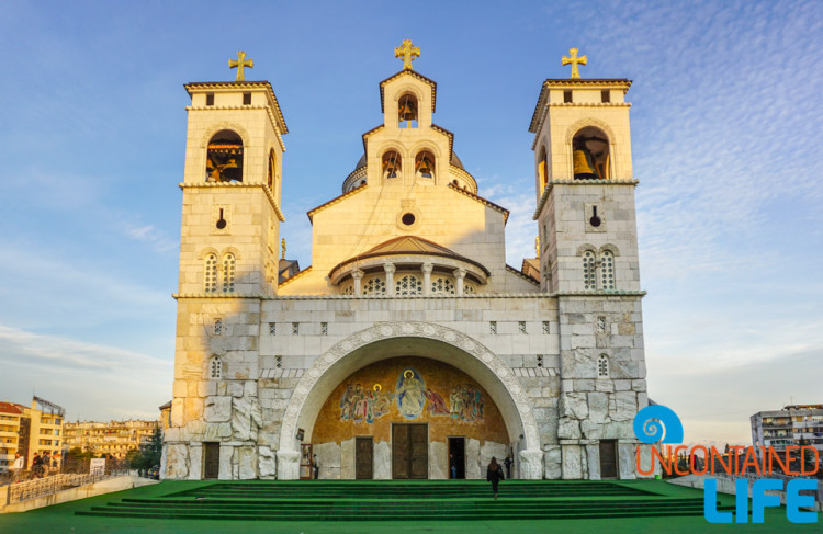 Cathedral of the Resurrection of the Christ, See and do in Podgorica, Montenegro, Uncontained Life
