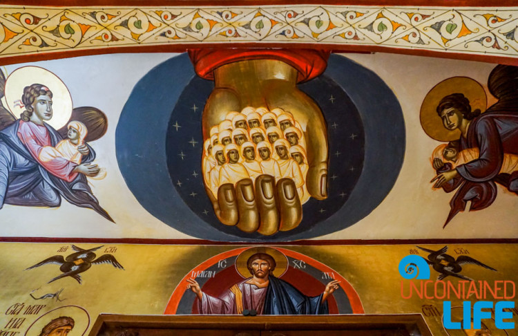 Mural, Cathedral of the Resurrection of the Christ, See and do in Podgorica, Montenegro, Uncontained Life