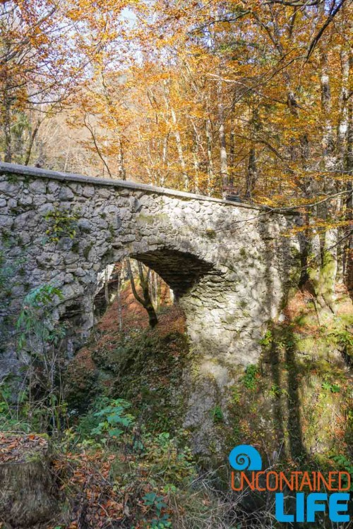 Devil's Bridge, Hiking Mostnica Gorge, Slovenia, Uncontained Life
