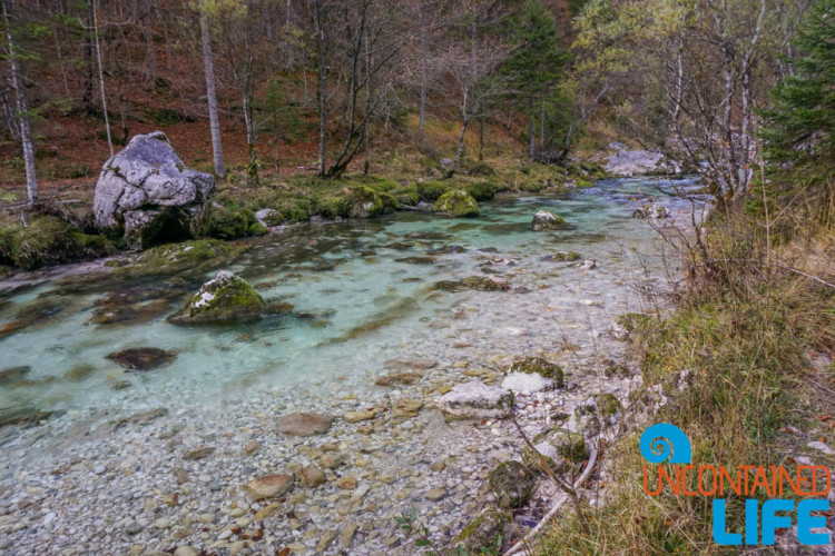 River, Clear Water, Nature, Hiking Mostnica Gorge, Slovenia, Uncontained Life