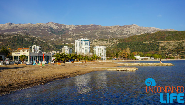 Beach, Old Town Budva, Montenegro, Uncontained Life