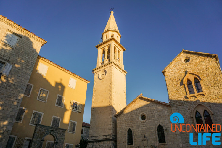 Church Bell Tower, Old Town Budva, Montenegro, Uncontained Life