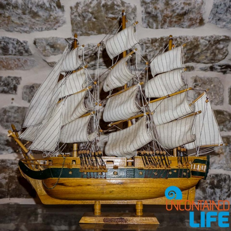 Model Ship, Old Town Budva, Montenegro, Uncontained Life
