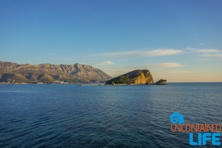 Nikola Island, Old Town Budva, Montenegro, Uncontained Life