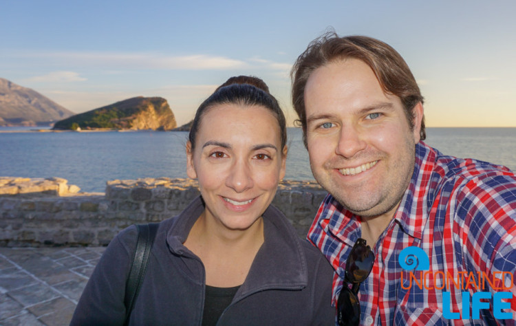 Budva, Montenegro, Traveling as a Couple, Uncontained Life
