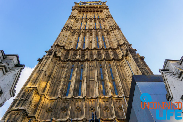 Big Ben, Buildings in London, England, Uncontained Life