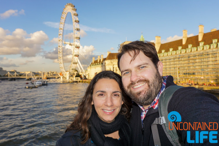 London, Traveling as a Couple, Uncontained Life