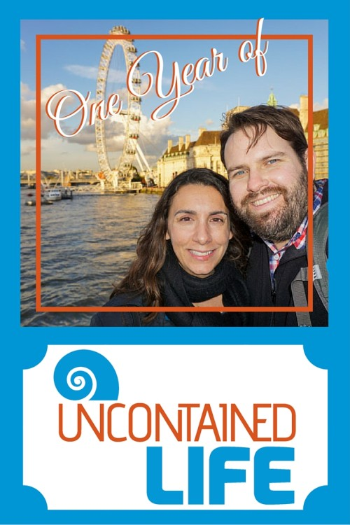 One Year of Uncontained Life, Traveling as a Couple