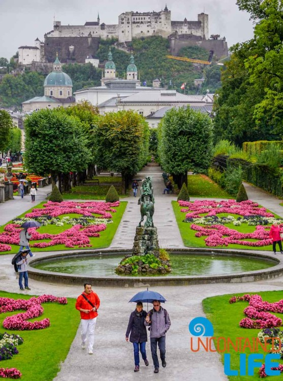Mirabell Gardens, Day in Salzburg, Austria, Uncontained Life