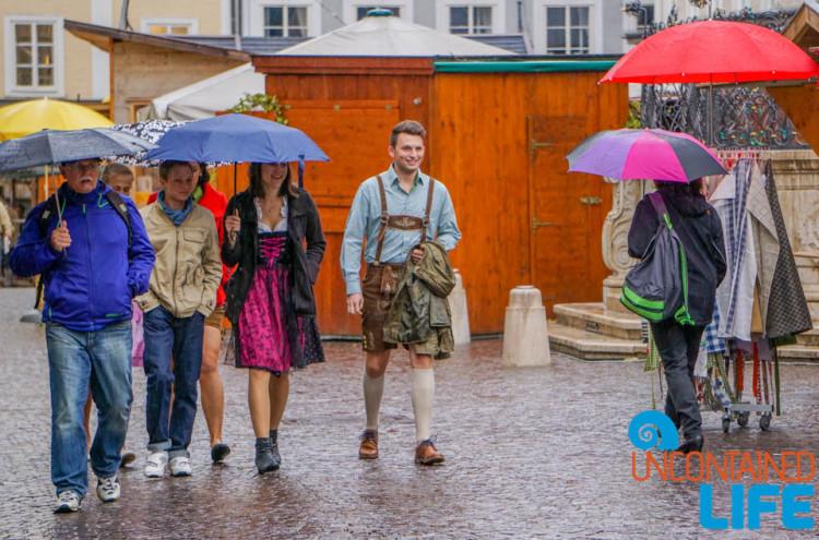 Dom Quarter, Day in Salzburg, Austria, Uncontained Life