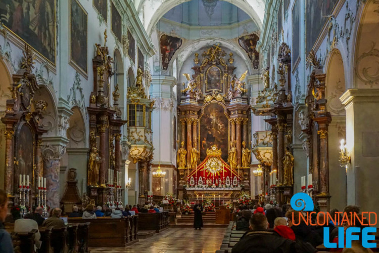 Franciscan Church, Day in Salzburg, Austria, Uncontained Life