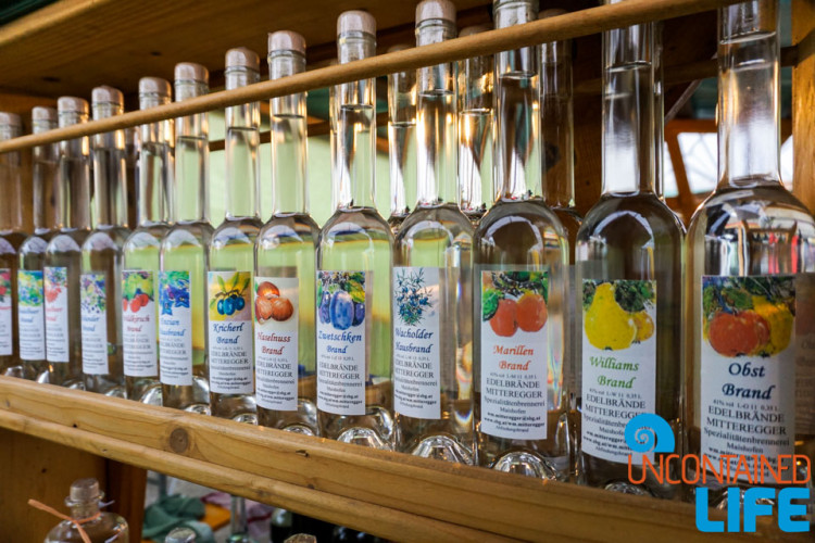 Schnapps, Day in Salzburg, Austria, Uncontained Life