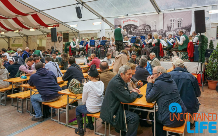 Festival, Day in Salzburg, Austria, Uncontained Life