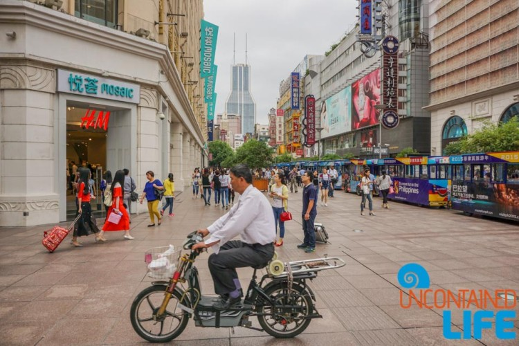Motorbike, 24 Hours in Shanghai, China, Uncontained Life