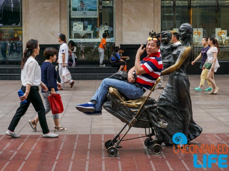 Smoking Chair, 24 Hours in Shanghai, China, Uncontained Life