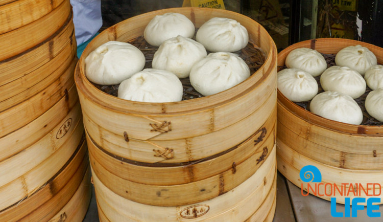 Pork Bun, 24 Hours in Shanghai, China, Uncontained Life