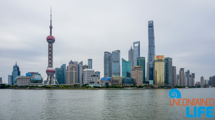 River and Skyline, 24 Hours in Shanghai, China, Uncontained Life