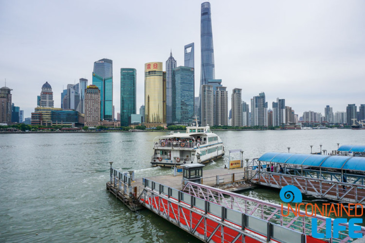 Ferry Boat, 24 Hours in Shanghai, China, Uncontained Life