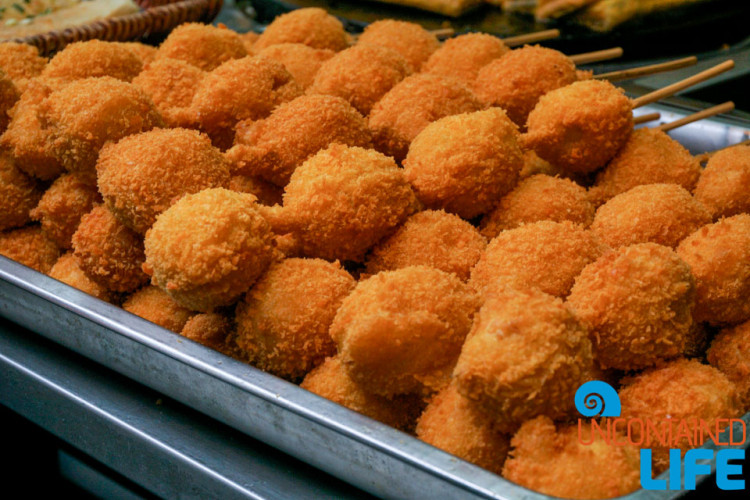 Fried Fish Balls, 24 Hours in Shanghai, China, Uncontained Life