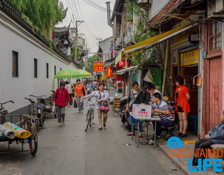 Alleyway, 24 Hours in Shanghai, China, Uncontained Life