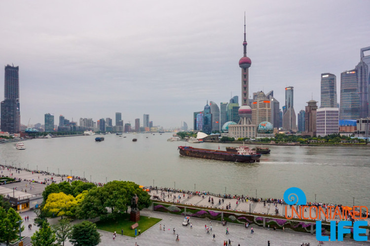 The Bund, 24 Hours in Shanghai, China, Uncontained Life