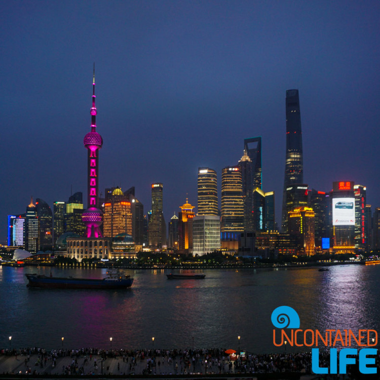 Skyline, 24 Hours in Shanghai, China, Uncontained Life