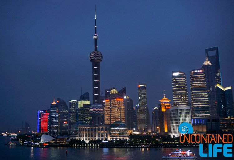 Night Skyline, 24 Hours in Shanghai, China, Uncontained Life