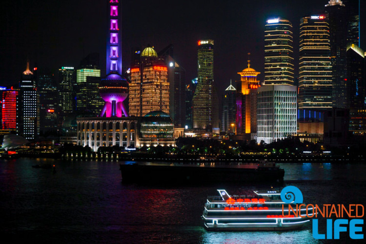 Night Boat, 24 Hours in Shanghai, China, Uncontained Life