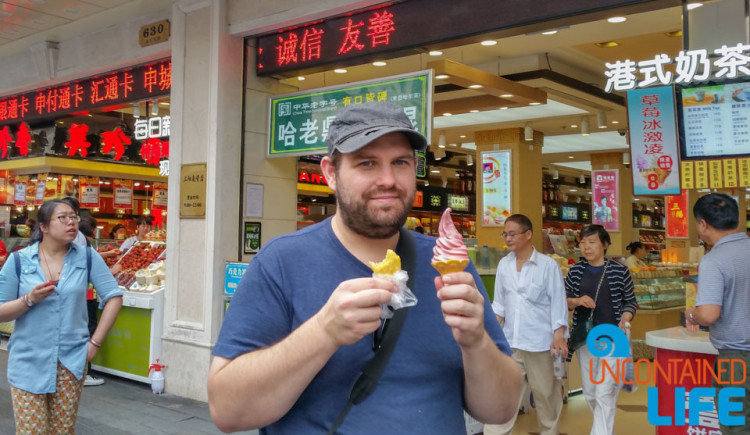 Ice Cream, 24 Hours in Shanghai, China, Uncontained Life