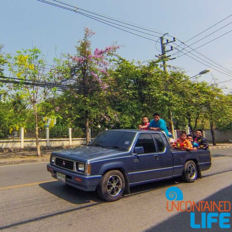 Drive By Soaking, Celebrating Songkran in Chiang Mai, Thailand, Uncontained Life