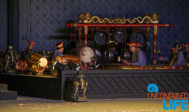 Gamelan, See the Ramayana Ballet, JogJakarta, Java, Indonesia, Uncontained Life