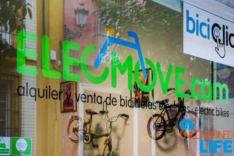 Elecmove, Beautiful Places in Seville, Spain, Uncontained Life