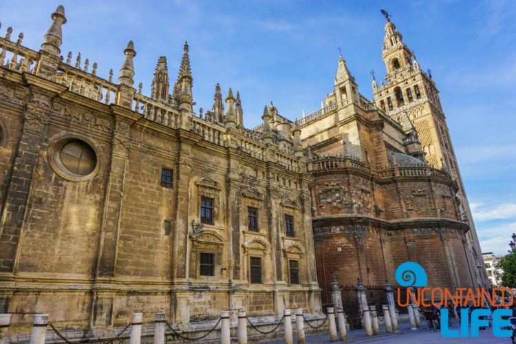 Cathedral of Seville, Beautiful Places in Seville, Spain, Uncontained Life