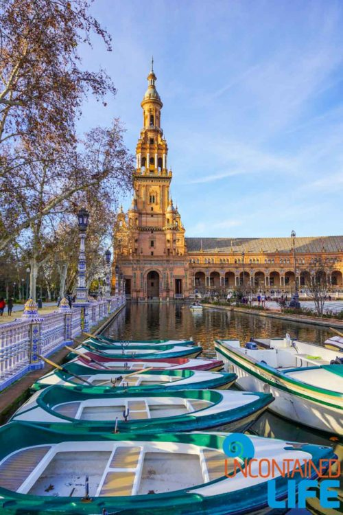 Plaza de España, Beautiful Places in Seville, Spain, Uncontained Life