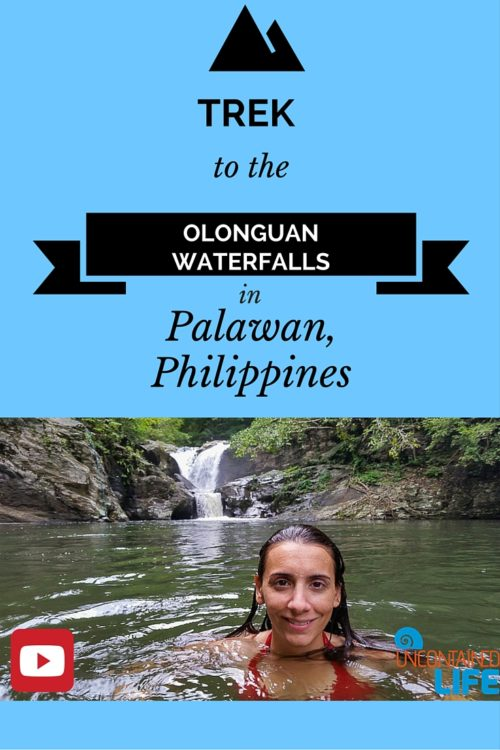 Olanguan Waterfalls in Palawan, Philippines, Uncontained Life